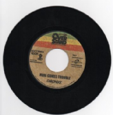 Rootsman Riddim: Chronixx - Here Comes Trouble / version (Overstand / Buyreggae) EU 7""